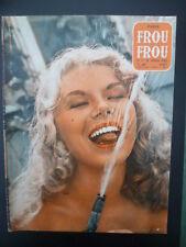 Magazine PARIS FROU*FROU 1956 n° 49 - Cv. et 4ème Cv. Dane ARDEN