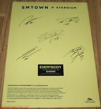 SHINEE SMTOWN STARDIUM SM OFFICIAL GOODS AUTOGRAPH SIGNATURE STICKER NEW