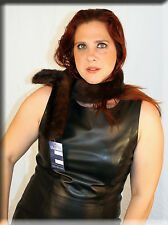 New Brown Mink Fur Scarf or Collar Efurs4less