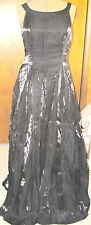 LADIES' PLUS SIZE BLACK FORMAL GOWN SIMCO SIZE 18/20? TALL? EUC