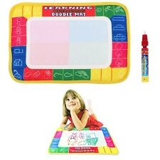 New Water Writing Painting Drawing Mat Board &Magic Pen Doodle Kid Game Gift Toy