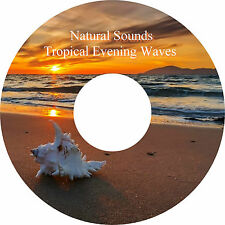 Natural Sounds Tropical Evening Waves CD - Relaxation Deep Sleep Stress Relief