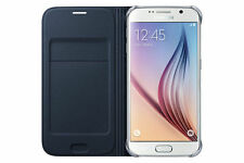 Samsung Galaxy S6  FLIP CASE WALLET NAVY BLUE EF-WG920PBEG CARD POCKET 24Hr Post