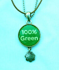 NECKLACE Girl Scout 100% GREEN 100th Anniversary Clever Christmas GIFT