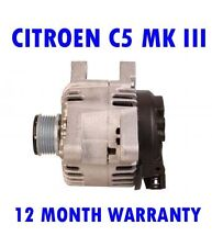 CITROEN C5 III BREAK 1.6 2.0 2008 2009 2010 2011 2012 - 2015 RMFD ALTERNATOR