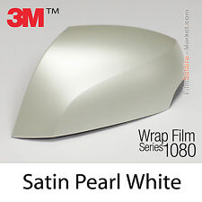 20x30cm FILM Satin Pearl White 3M 1080 SP10 Vinyle COVERING New Series Wrap Film