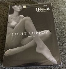 Wolford SYNERGY LIGHT Support Tights Pantyhose Anthracite Large