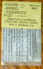 Plano Model Products #122 Steel Car Wlkwy-Ends Only (HO Scale) 1:87th Scale