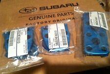 Subaru Genuine OEM GAS BRAKE CLUTCH ALUMINUM PEDAL KIT 36024FA001 36024FA010