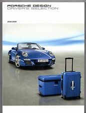 Porsche Design Driver's Selection Merchandise 2008-09 UK Market Sales Brochure