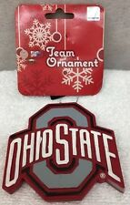 Ohio State Buckeyes NCAA Holiday Christmas Ornament Logo Forever Collectibles