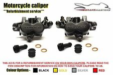 Kawasaki Z750S 05-06 front brake caliper refurbishment service 2005 2006