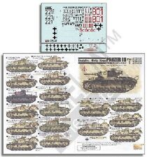 Echelon Decals 1/35 DAK Panzer IIIs Part 2 ECH351026