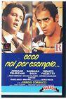 ECCO NOI PER ESEMPIO... ADRIANO CELENTANO BARBARA BACH RENATO POZZETTO VHS