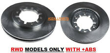 FOR NISSAN NAVARA D22 2WD 2.5TD 02 03 04 05 06 07 FRONT BRAKE DISC SET +ABS 2488