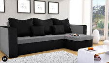 New MOJITO Corner Sofa Bed Best Quality Free Delivery GREY AND BLACK