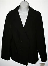 JOCKEY Person to Person Ladies Size 12 Black Waist Coat