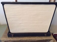 Vintage Britelite Truvision Portable Standalone Projection Screen In Case