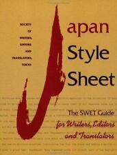 Japan Style Sheet: The Swet Guide for Writers, Editors and Translators-ExLibrary