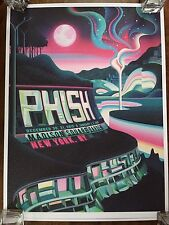 Phish poster Madison Square Garden MSG New York, NY NYE 2015 Chivers