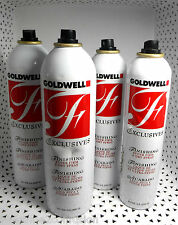 4 Goldwell F EXCLUSIVES Finishing Super Firm Dry SPRAY 14.1/8.5 oz NEW nbnc 656