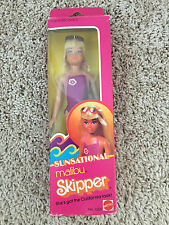 MIB NRFB Vintage 1981 BARBIE's Sister SUNSATIONAL MALIBU SKIPPER DOLLby MATTEL