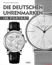 Fachbuch Die deutschen Uhrenmarken im Porträt, Mühle, Glashütte Original, Dugena
