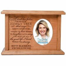 Cremation Urns for Human Ashes Personalized Memorial Keepsake holds 2x3 photo