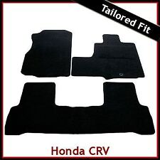 Honda CRV Mk3 2006-2010 Fully Tailored Fitted Carpet Car Mats BLACK