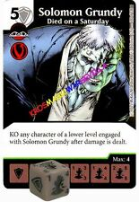 100 SOLOMON GRUNDY Died on a Saturday -Uncommon- JUSTICE LEAGUE -DC Dice Masters