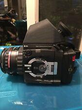 Rolleiflex HY6 with Schneider AF-Xenotar 1:2.8 f = 80mm Lens, incl Rollei Prism