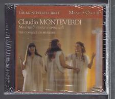 MONTEVERDI CD NEW MADRIGALI EROTICI E SPIRITUALI THE CONSORT OF MUSICKE