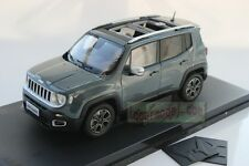 1/18 China New Jeep Renegade Car Model Diecast Gray