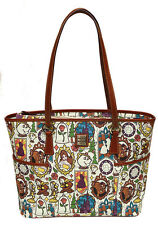 "Disney Dooney & Bourke ""Beauty and the Beast"" Belle Shopper Tote Bag - SEALED"