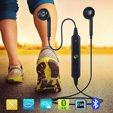 New listing Wireless Bluetooth 4.1 Headset Stereo Headphone Sport for iPhone Samsung Black