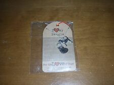 FOR THE LOVE OF DOGS NECKLACE & CHARM-NEW-2016-I LOVE MY BEAGLE