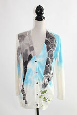 Anthropologie Moth Tiga Watercolor Giraffe Long Cardigan XS