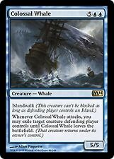 Colossal Whale    CHINESE  EX/NM    FOREIGN  M14 MTG  CHINESE Blue Rare
