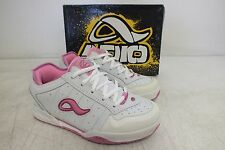 Adio Quality Footwear Kenny Anderson White/Pink Skateboarding Shoes 6/38 NEW