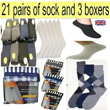 JOB LOT Designer 24 mens different items socks & boxers Clearance liquidation