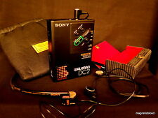 Sony Walkman WM-DC2 dd, restored 100% , Sony MDR A-40 rare. Exceptional sound!