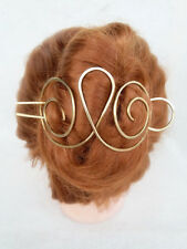 Large Hair Clip Metal Hair Fork Slide Hair Pin Stick Hair Jewelry,Wire Wrapped