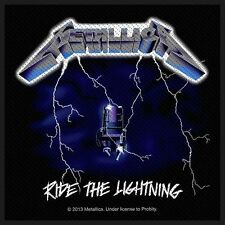 METALLICA - Patch Aufnäher - Ride the lightning 10x10cm