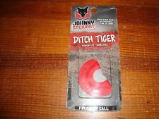 "NEW Johnny Stewart Predator Diaphragm Call "" DITCH TIGER"" Mouth Call"
