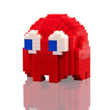 Official Pac Man Pixel Brick Figure Ghost Blinky 247 Pieces Build Your Own Retro
