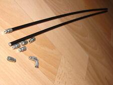 2x Tune Bowdenzughülle Kunststoff Retro Schaltung NOS Shimano XTR Suntour XC Pro