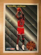 1993 Fleer #224 Michael Jordan (NBA Basketball Card)