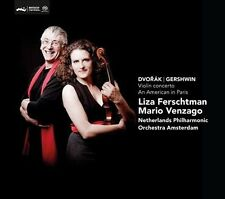Dvor…k: Violin Concerto; Gershwin: An American in Paris Super Audio Hybrid CD...