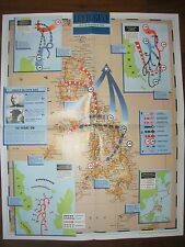 IMAGES OF WAR WWII CAMPAIGN MAP LEYTE GULF 6 SEPTEMBER TO 25 OCTOBER 1944