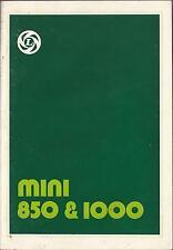 ROVER   MINI   850 & 1000    Betriebsanleitung   1976   Bedienungsanleitung   BA